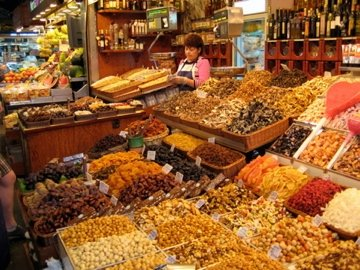 A tasty Spanish market that my family and I visited a few years ago