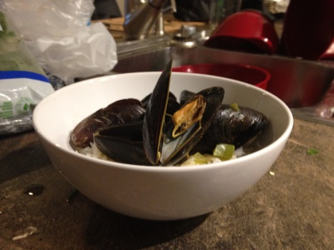 Thai Coconut Mussels
